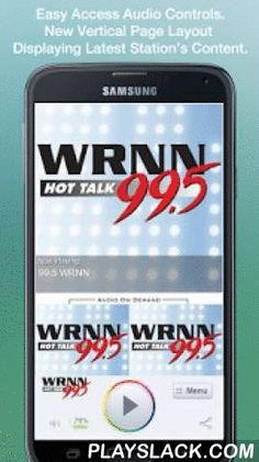 99.5 WRNN  Android App - playslack.com , Never be without your favorite radio station. 99.5 WRNN is proud to present our OFFICIAL radio app. Listen to us at work, home or on the road. Install our app and get instant access to our unique content, features and more!- New design and interface- See current playing show and up to date station and local news on a single screen- Get notifications and single click access to any station promotions or contests- View station's YouTube channel without…