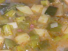 "Croatian Leek Stew ( Poriluk Cuspajz"")"