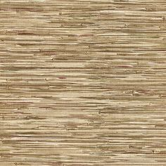 412-44139 Brown Grasscloth - Lepeka - Brewster Wallpaper