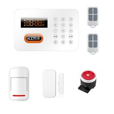 KR-X1 Wireless Intelligent Home Appliances Controlling PSTN ADSL Telephone Connect Keypads Home Burglar Alarm System #Affiliate
