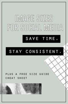 Get a FREE printable social media image size guide cheat sheet PLUS learn a few helpful tips to keep your visual assets organized, saving you valuable time!!