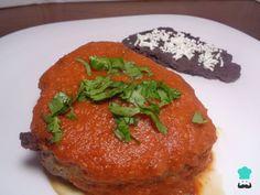 Receta de Medallones de res en salsa de chipotle #RecetasGratis #RecetasMexicanas #ComidaMexicana #CocinaMexicana
