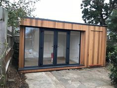 Garden Room with Storage - Northolt, London - Testimonial Garden Studio, Garden Spaces, The Expanse, London, Storage, Outdoor Decor, Room, House, Image