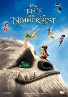 """""""Tinkerbell und die Legende vom Nimmerbiest"""" von Steve Loter. Mehr unter: http://www.kino-zeit.de/filme/tinkerbell-und-die-legende-vom-nimmerbiest"""