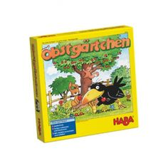 HABA Orchard Game - A Classic Cooperative Introduction to Board Games for Ages 3 and Up (Made in Germany) Apple Unit, Cooperative Games, Game Item, Memory Games, Flower Cards, Games For Kids, Children Games, Crow, Kids Learning
