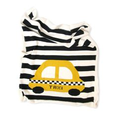 shop for organic cotton baby blanket yellow taxi this blanket is an eco