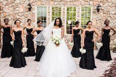 #Repost @billieboard ・・・ FORMATION | the Bride @fanchastic1 shines as her bridesmaids stunt in all black.  #billieboardphotography #weddingphotographer #atlantaweddings #bubblybridesmaids
