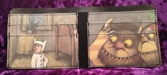 Wallet // Where the Wild Things Are by 1AlienMenace on Etsy