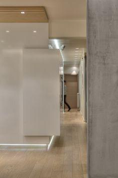 APARTMENT IN P.FALIRO - Corridor lighting Corridor Lighting, Corridor Ideas, Architecture Design, House Design, Home, Decor, Architecture Layout, Decoration, House