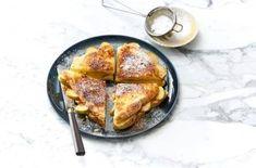 Appeltaarttosti Breakfast Dessert, Nigella, Lunch Time, Vegan Dishes, Vegan Vegetarian, French Toast, Pork, Snacks, Meat