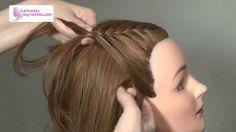 Önden Örgü uzun saç modelleri – Şık ve Zarif