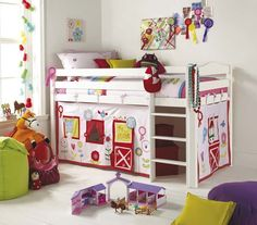 Le creazioni di Marzia: Camerette per bambini - struttura Kura di Ikea