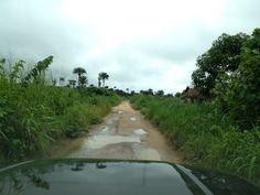Road in Sierra Leone