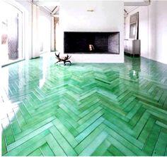 Jade flooring / Cartier.