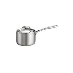 Tramontina Gourmet -Tri-Ply Clad 18/10 Stainless Steel Induction-Ready 1.5 in Covered Sauce Pan, Silver