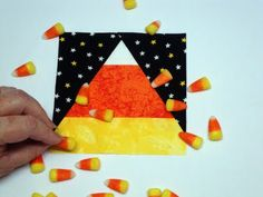 Paper piecing tutorial without sewing through the paper!