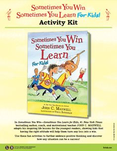 Sometimes You Win, Sometimes You Learn Activity Kit