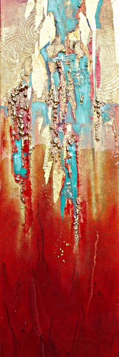 "Contemporary Painting - ""SHANGRI-LA"" (Original Art from Kimberly Pratt)"