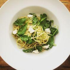 BFF: Lehké kukuřičné špagety s limetkovo avokádovou omá...