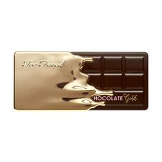Chocolate Gold Eyeshadow Palette - Too Faced (€40) ❤ liked on Polyvore featuring beauty products, makeup, eye makeup, eyeshadow, beauty, fillers, too faced cosmetics and palette eyeshadow