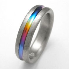 rainbow engagement ring - Google Search