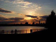 Sunset at Castle Island, South Boston, MA.  http://marcphotogallery.com/castle-island-sunset.html