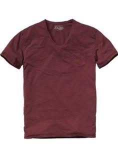 Scotch   Soda Herren Top 12040851119-Basic g dye vneck tee, Gr. 50 (L),  Weiß (01-denim white)  Amazon.de  Bekleidung 2c1bece2dd70