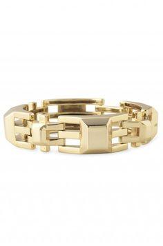 Stella & Dot Luxor Link Bracelet - Gold