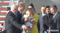 Watch Prince George Lose His Mind When Kate Hands Him to William