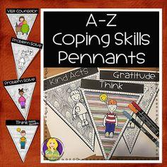 Coping Skills, Mindfulness, Self Regulation, Counseling Crafts