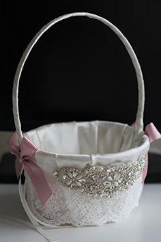 Amazon.com: Mauve Flower Girl Basket and Ring Bearer Pillow \ Blush pink bearer \ Mauve Wedding Basket \ Mauve Ring Pillow \ Mauve Bridal Sash Belt: Handmade