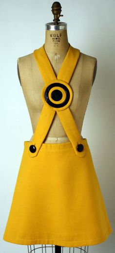 Pierre Cardin jumper ca. 1969 via The Costume Institute of the Metropolitan Museum of Art