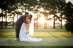 Nothing beats Natural lighting.  Christine Meeker Pictures | Kelli   Brent.  House Plantation Wedding