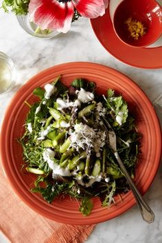 Asparagus Salad With Horseradish