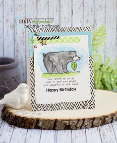 Houses Built of Cards: Bear Birthday