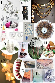 Handmade Christmas Decorations | Gallant and Jones
