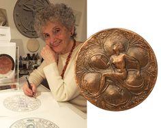 Laura Cretara - Art in a Coin, Engraver, Designer, Coin Designer in Italy Engraving Art, Metal Working, Coins, Italy, Design, Italia, Metalworking, Rooms