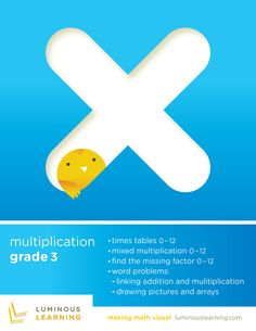 Grade 3 Multiplication e-Workbook: Making Math Visual School License