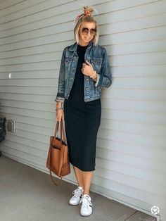 Black Dress Outfits, Winter Dress Outfits, Spring Outfits, Casual Dresses, Casual Outfits, Winter Dresses, Summer Dresses, Long Dresses, Simple Dresses
