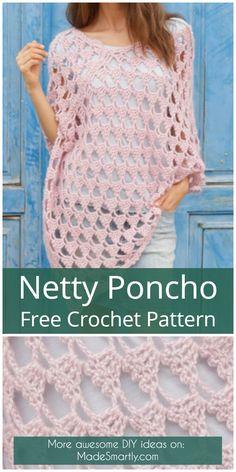 Netty Poncho - Free Crochet Pattern