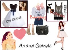 """""""Ariana Grande's Style"""" by maddie-jo on Polyvore"""