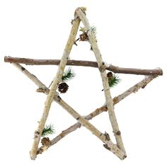 Shop for Large Rustic Snowy Wood Branch Star Christmas Ornament. Get free delivery On EVERYTHING* Overstock - Your Online Christmas Store! Christmas Ornament Sets, Christmas Store, Star Ornament, Retro Christmas, Rustic Christmas, Christmas Crafts, Christmas Decorations, Christmas Branches, Christmas Tabletop