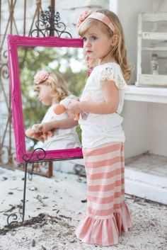 easter spring styles for little girls Persnickety Pink Bells. Cute idea for a picture.
