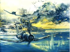 Patriotic War Aircraft Paintings of World War 2 Planes Paintings Ww2 Aircraft, Fighter Aircraft, Military Aircraft, Aircraft Painting, Airplane Art, Ww2 Planes, Aircraft Pictures, Nose Art, Aviation Art