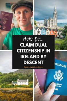 How I became Irish! Click here to find out how I claimed dual citizenship in Ireland by decent. More at ExpertVagabond.com #Ireland #Europe #Irish #Travel