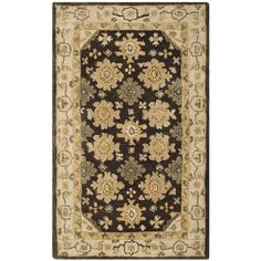 Taj Mahal Brown/Ivory Area Rug