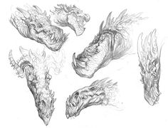 How to draw a dragon - expressions