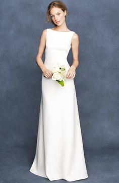 JCrew Wedding Collection 2013. This is my total fave. It has a low scoop back which is gorgeous.