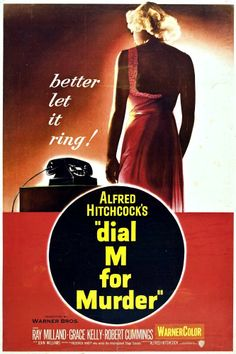 Crimen perfecto - Dial M for Murder (1954) | Milimétrico plan...