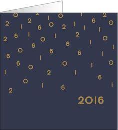 Carte de vœux professionnelle web. Disponible en 4 formats et à personnaliser sur Popcarte.com